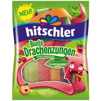 Hitschler - Bunte Drachenzungen, sauer 125g
