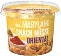 Kluth Maryland Snack Nüsse Oriental Style 275g