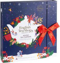"Tee-Buch Adventskalender ""Christmas Night"" Schleife 50g"