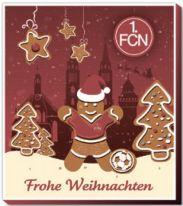 "Fußball Vereinsliebe ""1. FC Nürnberg"" Adventskalender 200g"