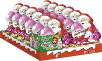 FDE Christmas Kinder Schokolade Weihnachtsmann mit Überraschung Mädchen 75g