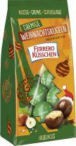 FDE Christmas Cremige Weihnachtskugeln Haselnuss präsentiert von Ferrero Küsschen 100g