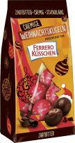 FDE Christmas Cremige Weihnachtskugeln Zartbitter präsentiert von Ferrero Küsschen 100g