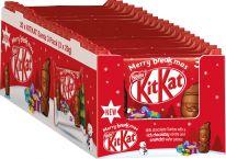 Nestle Christmas Kitkat Mini-Weihnachtsmänner 87g