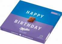 """MDLZ DE Milka """"Happy Birthday"""" Milchcrème 110g"""