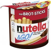 FDE Limited Nutella&GO! 52g, Display, 180pcs