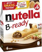 FDE Limited nutella B-ready 6er 132g , Display, 664pcs