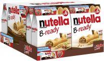 FDE Limited nutella B-ready 6er & nutella biscuits 3er 132g+41.4g