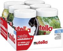 FDE Limited Nutella 750g Glas