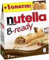 FDE Limited Nutella B-ready 6 + 1 154g, Display, 96pcs