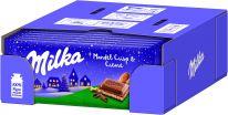 MDLZ DE Winter Milka Mandel Crisp & Crème 90g