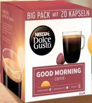 Nestle Nescafé Dolce Gusto Morning Coffee 20 Capsules 160g