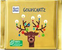 Ritter Sport Christmas Goldschatz 145g