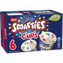 Nestle Smarties Cup's 6x70ml