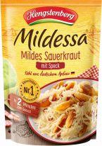 Hengstenberg Mildessa Mildes Sauerkraut mit Speck, 400g