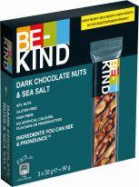 Mars/ BE-KIND Dark Chocolate Nuts & Sea Salt 3x30g