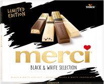 Storck Limited merci Finest Selection Black & White 240g, 10pcs