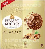 FDE Rocher Ice Cream Stick 4er 4x70ml