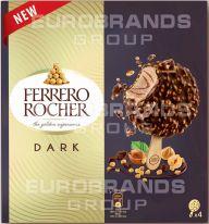 FDE Rocher Ice Cream Stick 4er dark 4x70ml