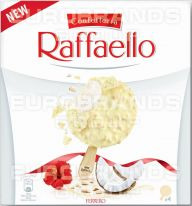 FDE Raffaello Ice Cream Stick 4er 4x70ml