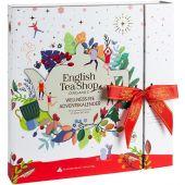 "Tee-Buch Adventskalender ""Wellness"" Schleife 50g"