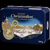 Dr. Quendt Christmas Dresdner Christstollen 500g Dose