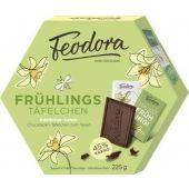 Feodora Easter Frühlings-Täfelchen Edelbitter-Sahne, 225g