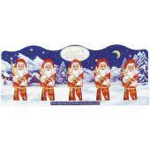 Lindt Christmas - Mini-Weihnachtsmänner, Milch 50g
