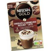Nestle Limited Nescafé Gold Chocolate and Caramelised Hazelnut Typ Latte 148g Winter Limited Edition
