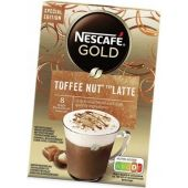 Nestle Limited Nescafé Gold Toffee Nut Typ Latte 156g Winter Limited Edition
