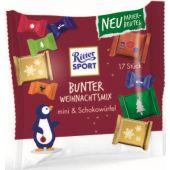 Ritter Sport Christmas Bunter Weihnachtsmix Beutel 195g, 36pcs
