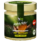 Bio Zentrale Honigspezialität mit Thymian 250g