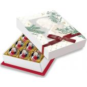 Reber Christmas - Mozart-Barock 12er-Packung Weihnachtsfolie. 240g