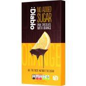 :Diablo No Added Sugar Dark chocolate with Orange 75g