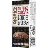 :Diablo No Added Sugar Chocolate Cookies & Cream 128g