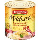Hengstenberg Mildessa Fix Mildes Weinsauerkraut Fertig Gekocht Und Gewürzt 72 Portionen 10200ml
