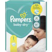 Pampers Baby Dry Gr.1 Newborn 2-5kg Tragepack