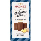 Hachez Christmas A Matter of Taste Flachtafel 44% Feine Vollmilch Ingwer 100g