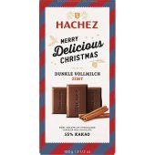 Hachez Christmas A Matter of Taste Flachtafel 55% Dunkle Vollmilch Zimt 100g