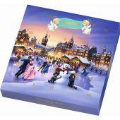 Schwermer Christmas Mini-Marzipan Tisch-Adventskalender 135g