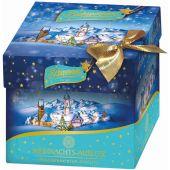 Schwermer Christmas Weihnachtswürfel Gewickelte Pralinés Blue 225g