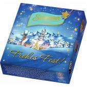 Schwermer Christmas Weihnachtsanlasspackung Mini-Pralinen Blue 33g