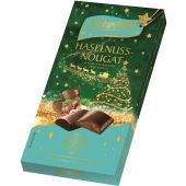 Schwermer Christmas Weihnachtsschokolade Haselnussnougat 90g