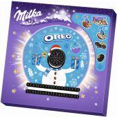 MDLZ DE Christmas Milka & Oreo Adventskalender 286g