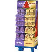 MDLZ DE Christmas Milka & Toblerone Pralinen-Geschenke, Display, 168pcs
