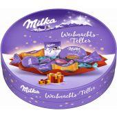MDLZ DE Christmas Milka Weihnachts-Teller 202g