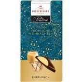 Niederegger Christmas Trüffel Tafel-Schokolade, Eierpunsch 100g