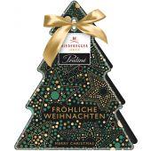 Niederegger Christmas Tannenbäumchen mit Trüffel Sternen Winterapfel 84g