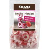 Sweets for my sweet Rocks Herzen im Beutel 125g
