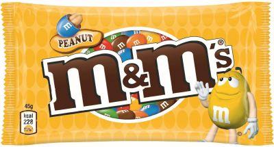 MDE M&M's Peanut Single 45g